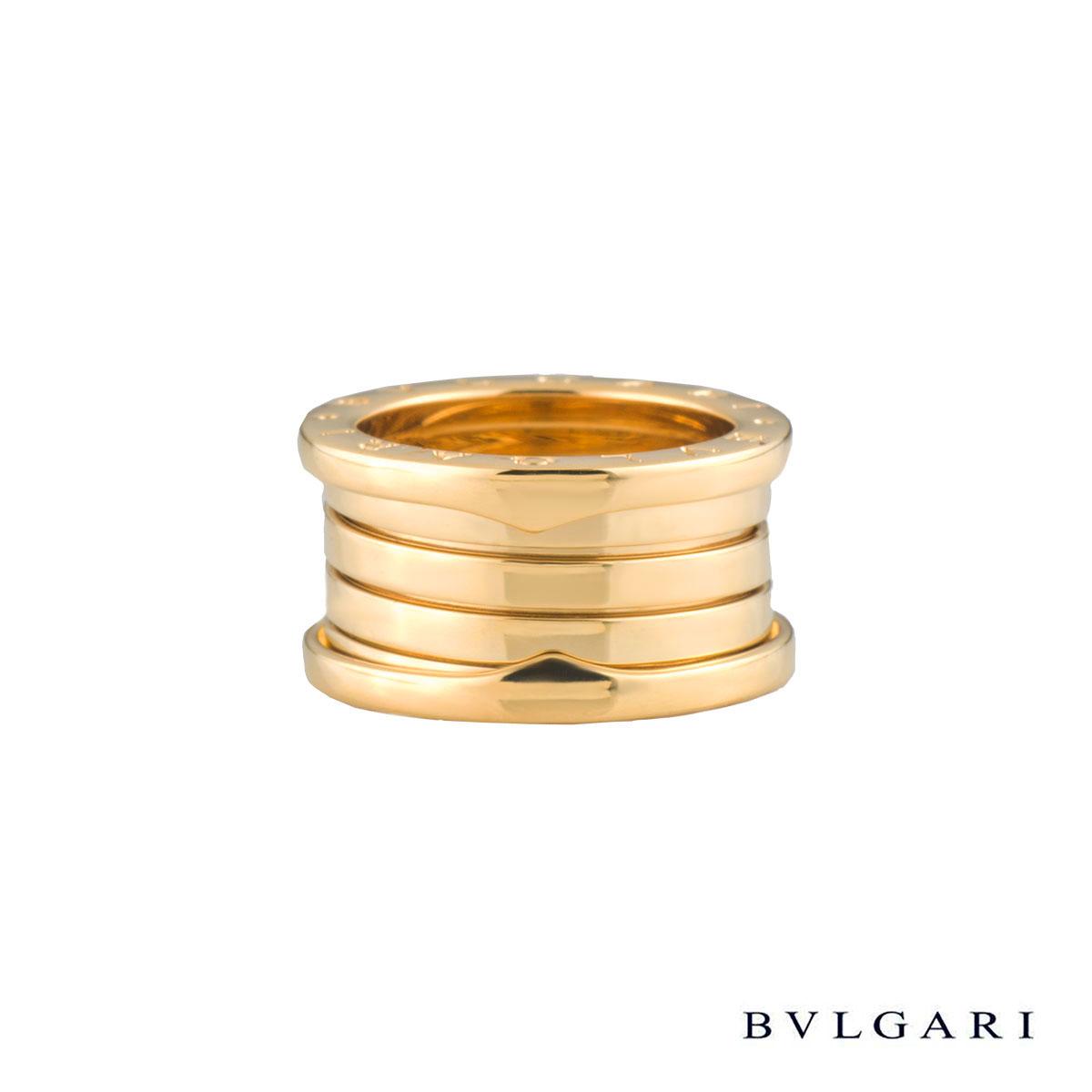 BvlgariYellow GoldB.Zero1 Ring AN191025